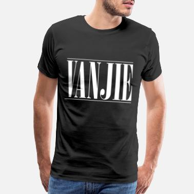 Miss vanjie fashion logo white - Men's Premium T-Shirt
