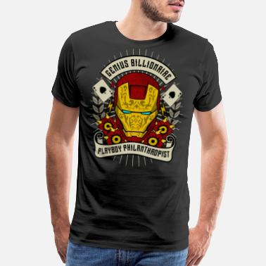 Billionaire Genius Billionaire - Men's Premium T-Shirt