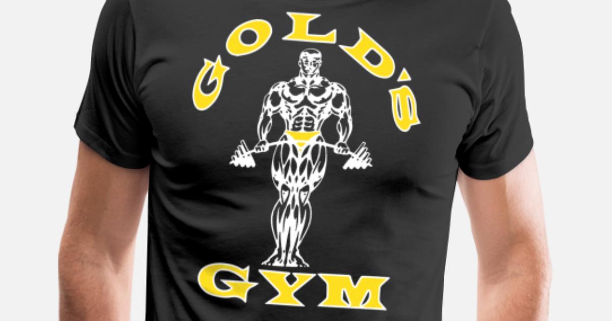 ccc0a02d6 Golds Gym Men s Bodybuilding Stringer Tank Top Mus Men's Premium T-Shirt |  Spreadshirt