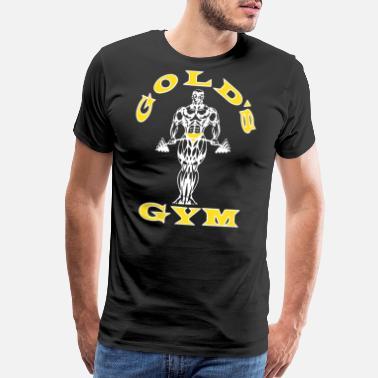 41ff363dc Golds Gym Men s Bodybuilding Stringer Tank Top Mus - Men's Premium T-Shirt