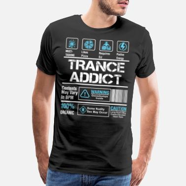 Trance Trance Addict - Men's Premium T-Shirt