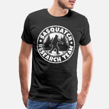 Research Funny Sasquatch Shirt: Sasquatch Research Team - Men's Premium T-Shirt