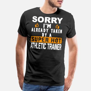 Athletic Super Hot Athletic Trainer Shirt - Men's Premium T-Shirt