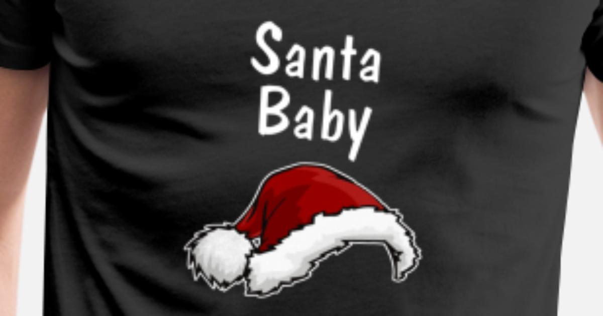 cea34a392daba Baby Bump's First Christmas Funny Pregnant Design Men's Premium T-Shirt |  Spreadshirt