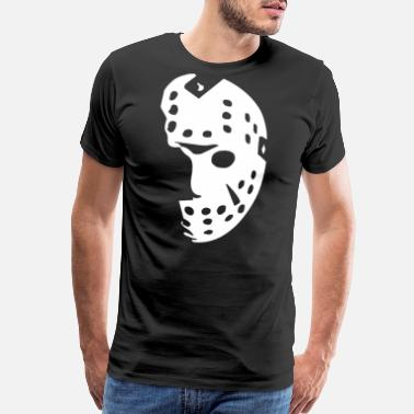 Friday 13th Halloween Hockey Mask FRIDAY THE 13TH - Men's Premium T-Shirt