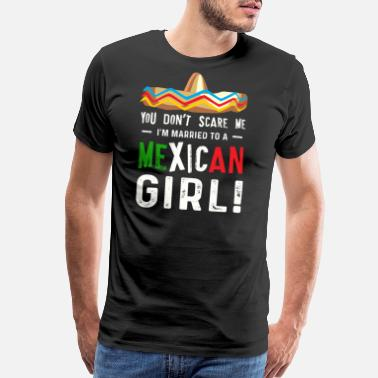 Mexican Wife Mexican Wife Cinco De Mayo - Men's Premium T-Shirt