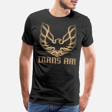 Firebird Muscle Car Pontiac Firebird Trans Am GM Retro Vintage Car New - Men's Premium T-Shirt