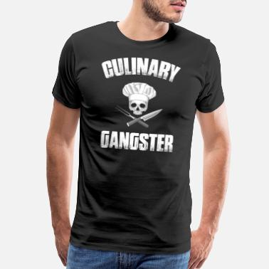 Culinary Gangster Culinary Gangster - Chef Cooking Gift - Men's Premium T-Shirt