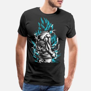 Dragon Dragon Ball - Goku SSB - Men's Premium T-Shirt