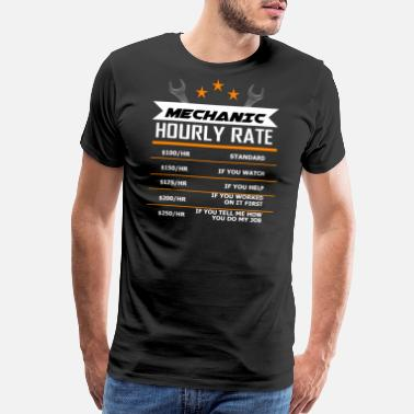 Mechanic mechanic mechatronics gift car saying job Present - Men's Premium T-Shirt