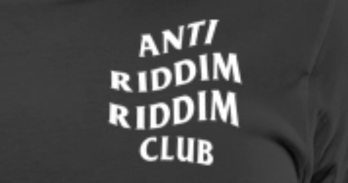dc1bde319959e Anti Riddim Riddim Club Men s Premium T-Shirt