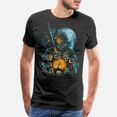 Knights Fallen Knight - Men's Premium T-Shirt