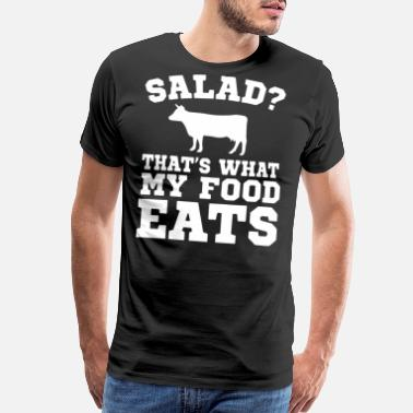 Salad salad that s what my food eats t-shirts - Men's Premium T-Shirt