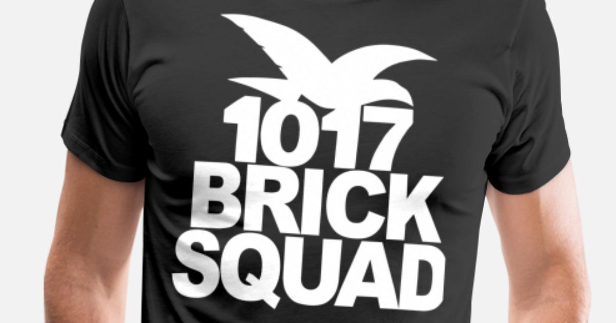 43693241 Brick Squad Gucci Mane 1017 New Men's Premium T-Shirt | Spreadshirt