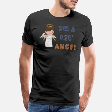 Dancing Doll I'm a Lil' Angel 1970s Cute Punk Rock Ironic - Men's Premium T-Shirt