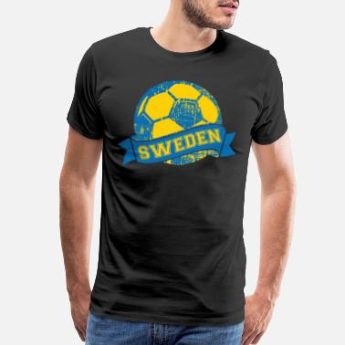 Football Club Sweden Football Player - Men's Premium T-Shirt