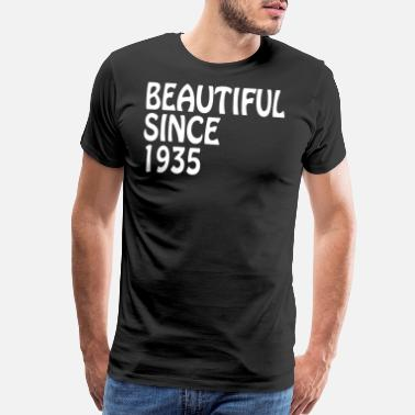 Cousin To Be Beautiful Since 1935 Happy Birthday Best Friend - Men's Premium T-Shirt
