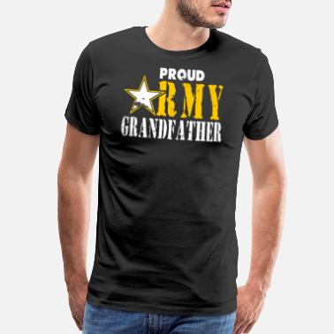 Navy Mom Army Grandfather Tshirt Army Grandfather Shirt - Men's Premium T-Shirt