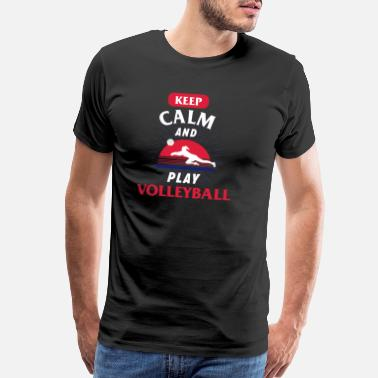 Shooting Sports Volleyball Sports Funny Gift - Men's Premium T-Shirt