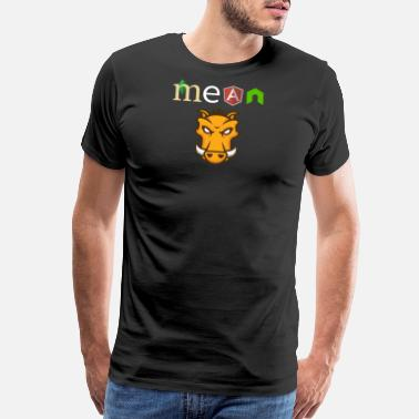 MEAN Stack Developer - Men's Premium T-Shirt