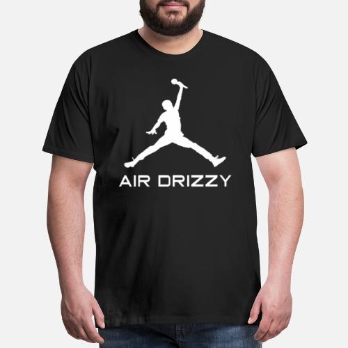 f10a9c7e82b294 Men s Premium T-ShirtDrake Air Drizzy Jordan Jumpman Parody Funny Humor