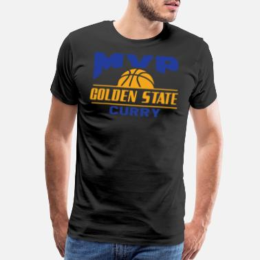 Stephen Curry Golden State Warriors Stephen Curry MVP Jersey sof - Men's Premium T-Shirt