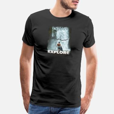 Exploring With Josh Explore - Men's Premium T-Shirt