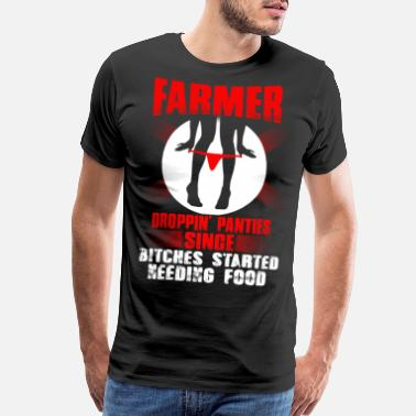Farm no farmer no food, farmers wife 8th Day - Men's Premium T-Shirt