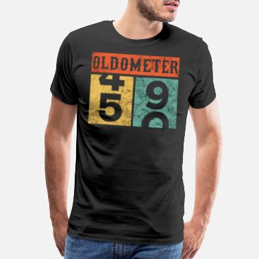 49 Years Old Birthday Oldometer 50th Counting Shirt