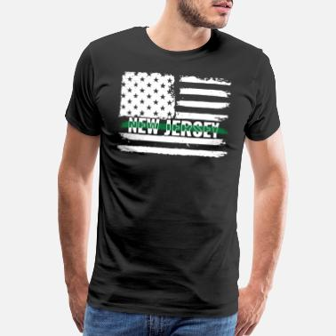 Agent New Jersey Customs and Border Control Agents Gift - Men's Premium T-Shirt