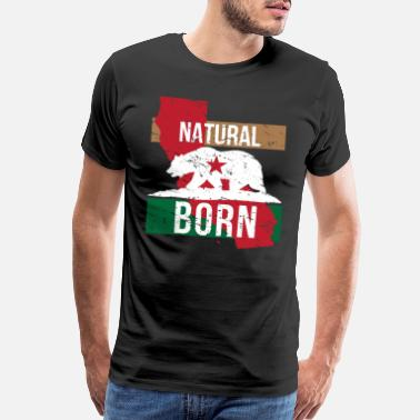 Local CA California Native Gift for Home State Pride - Men's Premium T-Shirt
