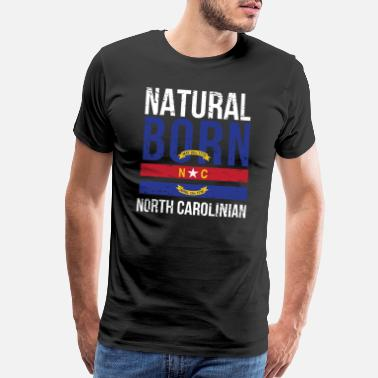The Office NC North Carolina Native Gift for Home State - Men's Premium T-Shirt