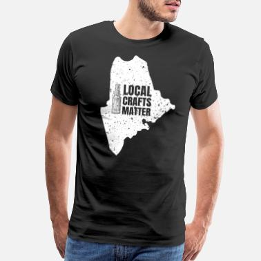 Minneapolis Minnesota Drink Local gift Gift for MN Craft Beer - Men's Premium T-Shirt