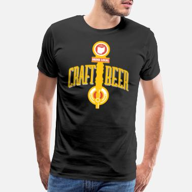 Oh Look Ohio Drink Local gift Gift for OH Craft Beer - Men's Premium T-Shirt