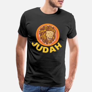 Jacob Jewish Tribe Hebrew Israelite Menorah Yah Apparel - Men's Premium T-Shirt