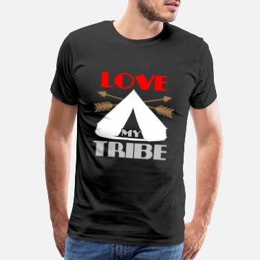 Proud Native American Indian Tribe - Men's Premium T-Shirt
