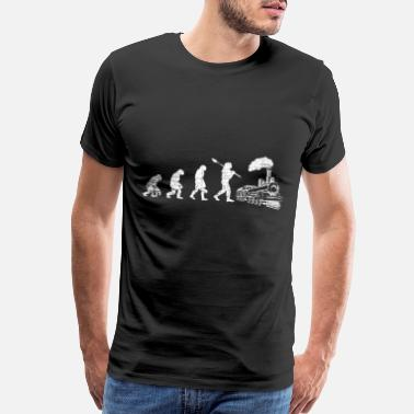 Locomotion Train Evolution - Men's Premium T-Shirt