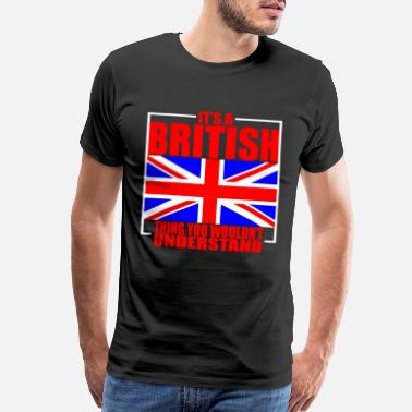 England Great Britain Culture - Men's Premium T-Shirt
