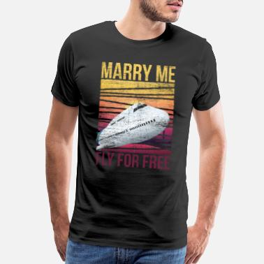 Stewardess Stewardess Marriage - Men's Premium T-Shirt