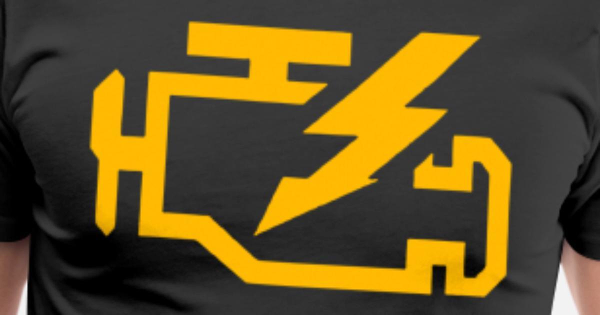 Check Engine Light Mechanic Auto Repair Mechanic T Men's Premium T-Shirt |  Spreadshirt