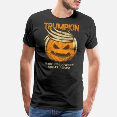 Pumpkin Trumpkin - Make Halloween Great Again - Men's Premium T-Shirt