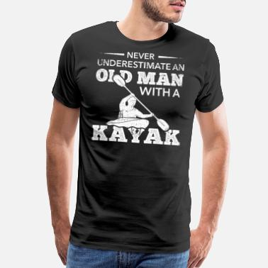 Lake Kayaking Kayak - Men's Premium T-Shirt