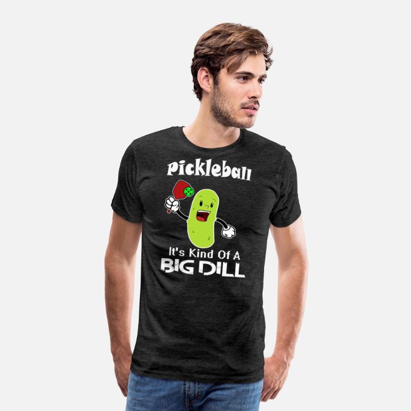552023c82 Pickleball Dill Pickle Ball Design Men's Premium T-Shirt | Spreadshirt