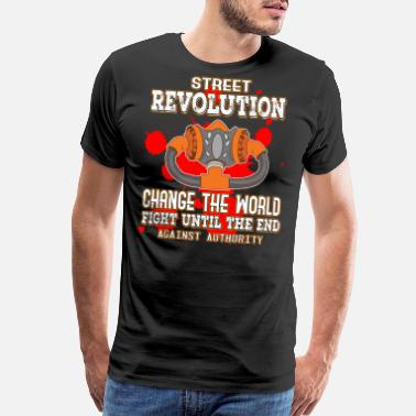 Social Justice This is the awesome revolutionary Tshirt Those - Men's Premium T-Shirt