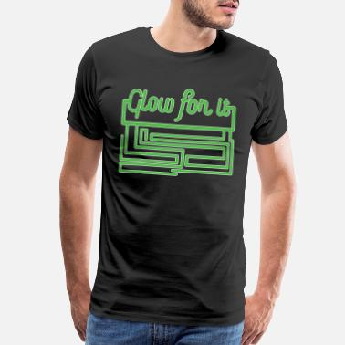 Glare Glow for it tee design. Makes a perfect gift - Men's Premium T-Shirt