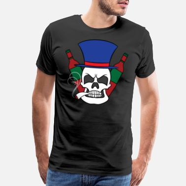 Loaf Fierce and creative skull tee design. Makes a - Men's Premium T-Shirt