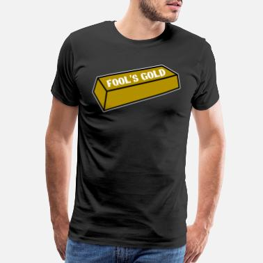 Bitters Fool's Gold tee design. Awesome and funny tee - Men's Premium T-Shirt