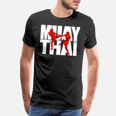 Thai Muay Thai - Men's Premium T-Shirt