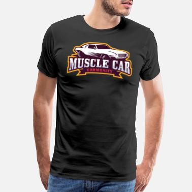 Muscle MUSCLE CAR - Men's Premium T-Shirt