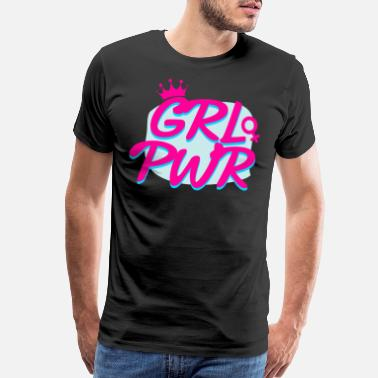Mens Night Girl power - Men's Premium T-Shirt